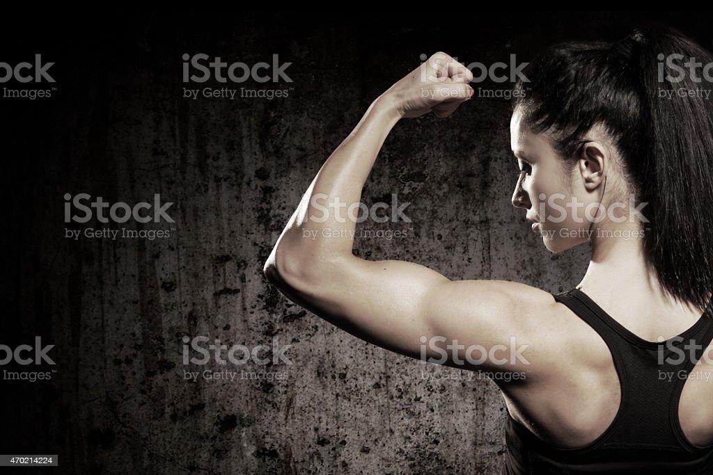 Forte mulher - foto de acervo