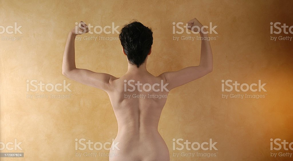 Strong Woman royalty-free stock photo