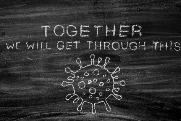 Stronger Zusammen,Coronavirus Ausbruch. – Foto
