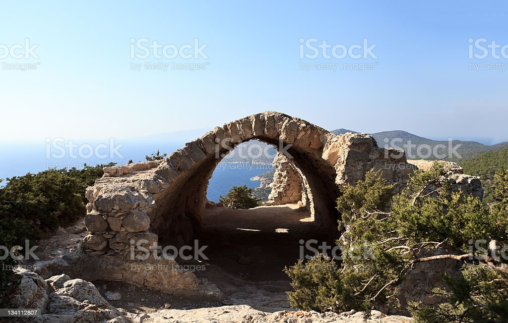 Stronghold royalty-free stock photo