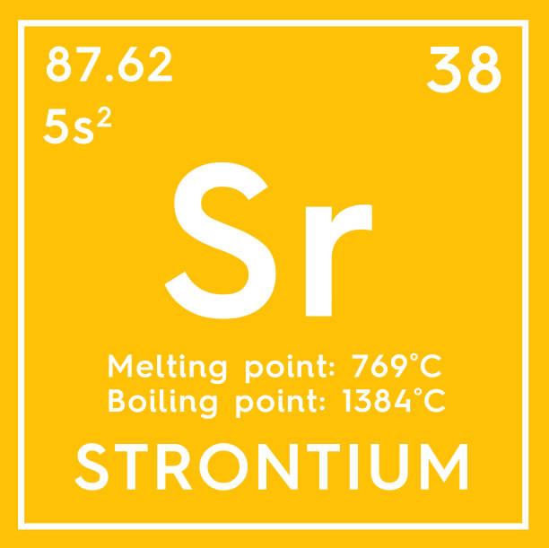 Royalty Free Strontium Periodic Table Science Chemistry Pictures