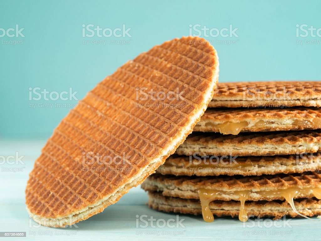 Stroopwafels Or Caramel Dutch Waffles Stock Photo Download Image Now Istock