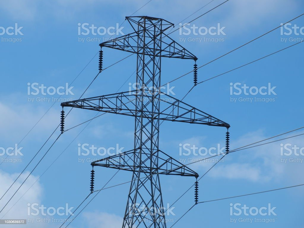 Structural Architecture of Tower stock photo