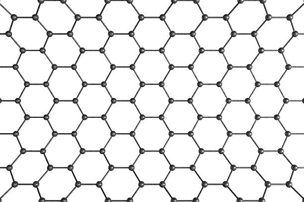 structural mesh - graphene stock photos and pictures