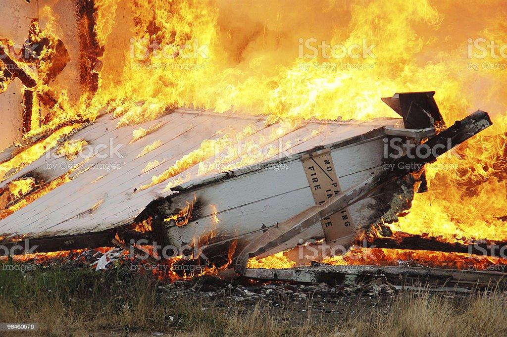 Struttura fuoco foto stock royalty-free
