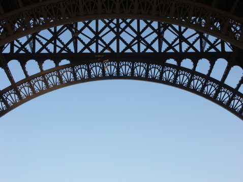 istock Structure of Eiffel tower in Paris 139710012