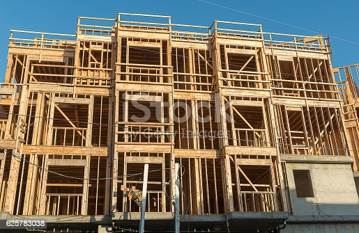 istock Structure of Wood in Construction 625783038