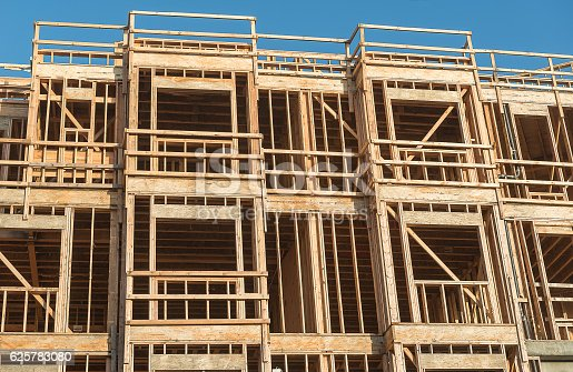 istock Structure of Wood in Construction 625783080