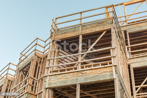 istock Structure of Wood in Construction 625973354