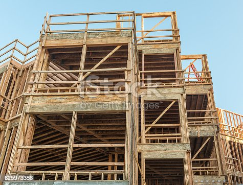 istock Structure of Wood in Construction 625973386