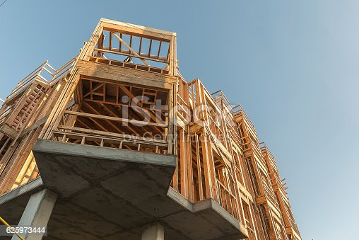 istock Structure of Wood in Construction 625973444
