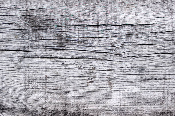 Structured wooden texture with small cracks stock photo