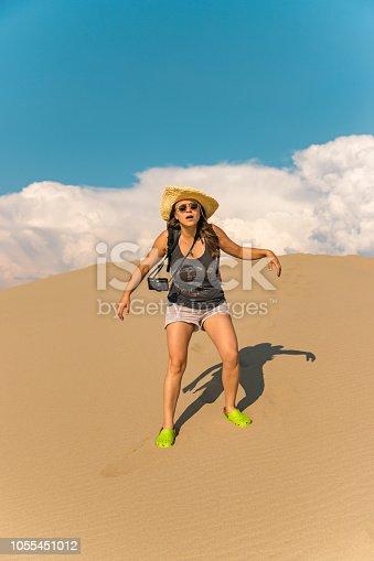 Struggle for water in the desert