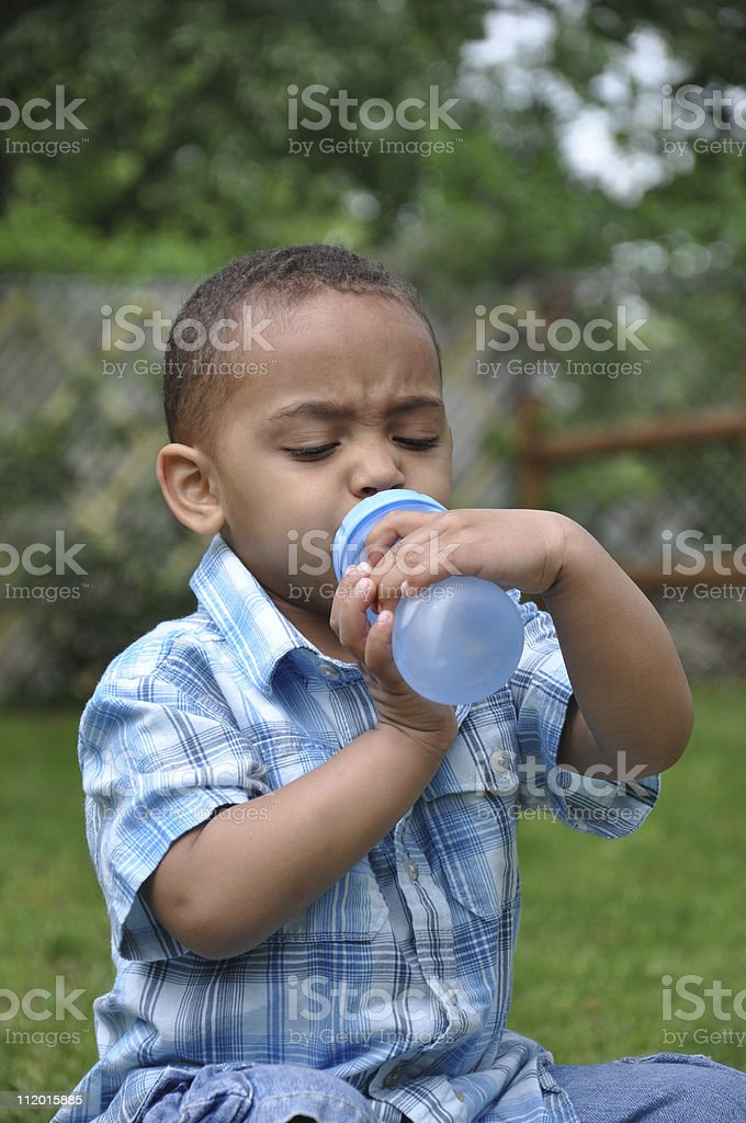 Struggling for Success stock photo