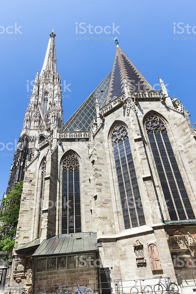 St.Stephen's Cathedral, Vienna royalty-free stock photo