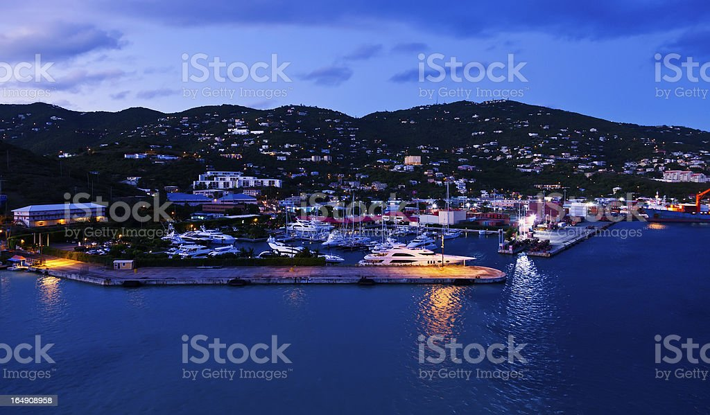 St.Thomas, USVI royalty-free stock photo