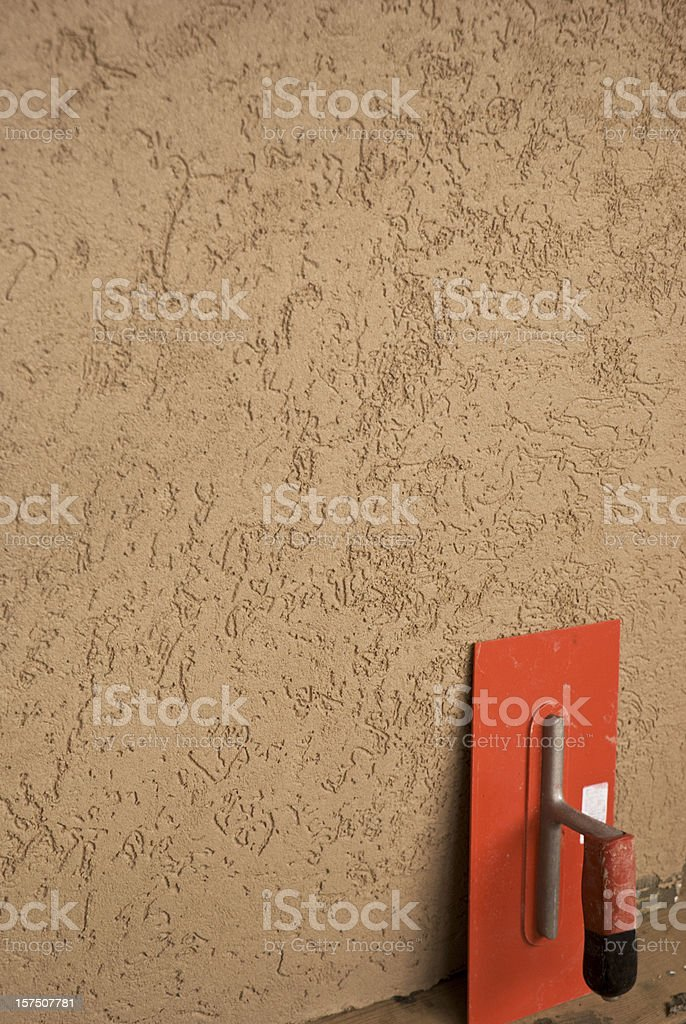 stucco and float royalty-free stock photo