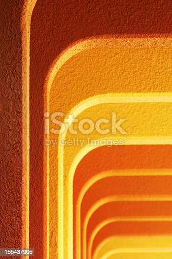 168248826 istock photo Stucco Buttress Column Architecture 155437905