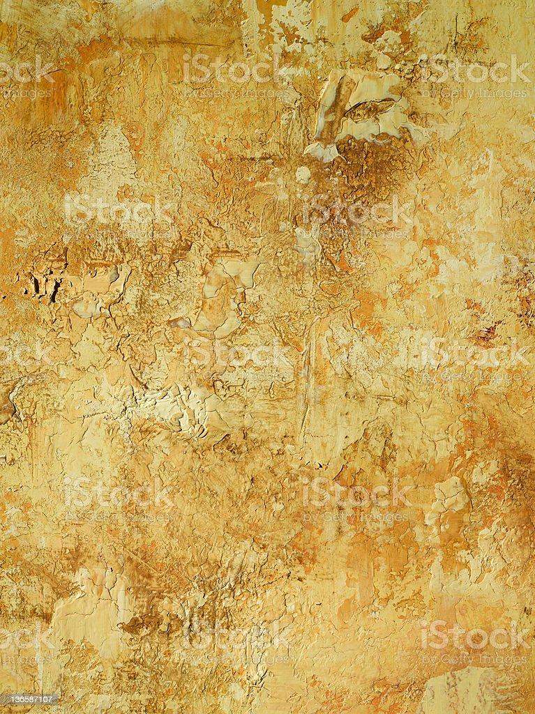 Stucco Wall Again royalty-free stock photo