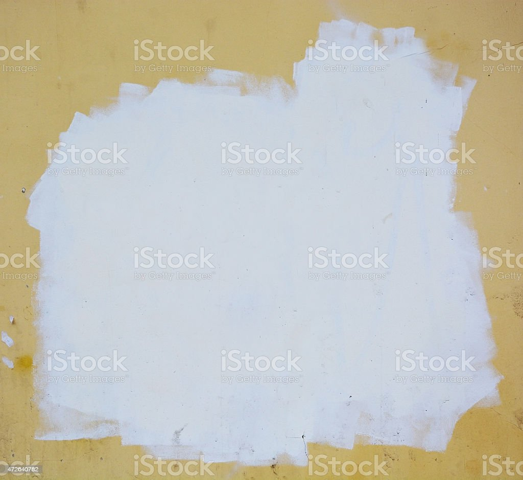 Stucco wall. Picture can be used as a background stock photo