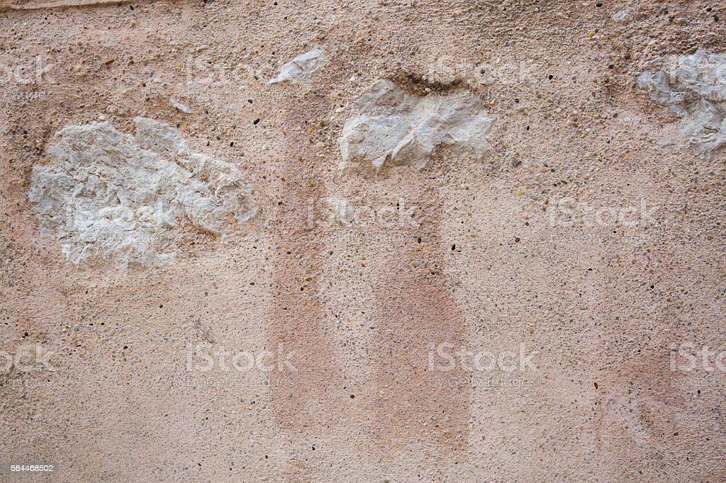 Stucco Wall Textured Stock Photo - Download Image Now - iStock