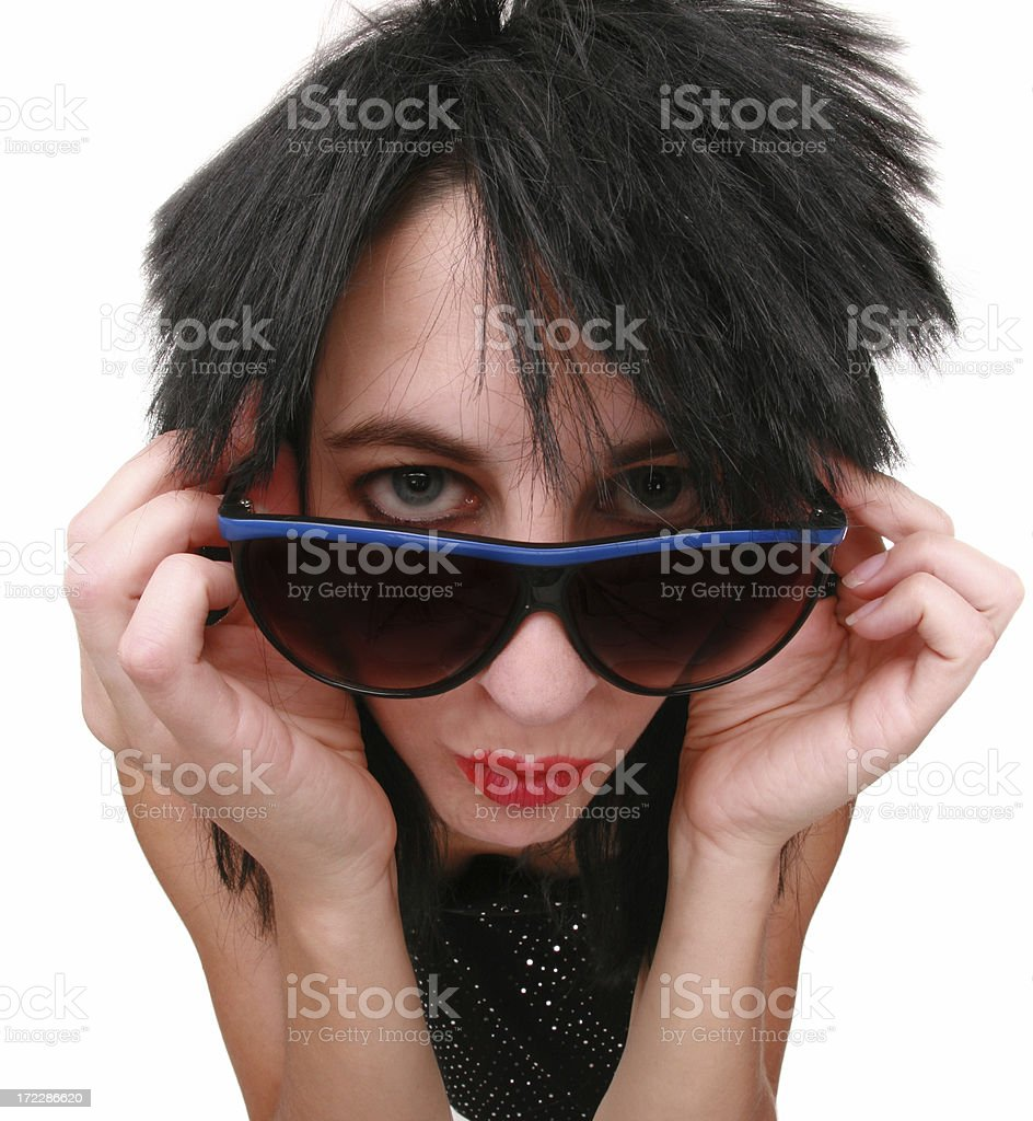 Stuck In The 80's royalty-free stock photo