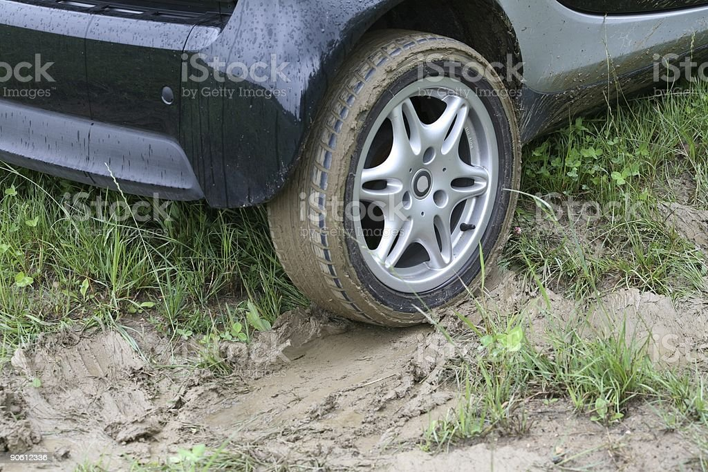 Stuck in the Mud 1 royalty-free stock photo