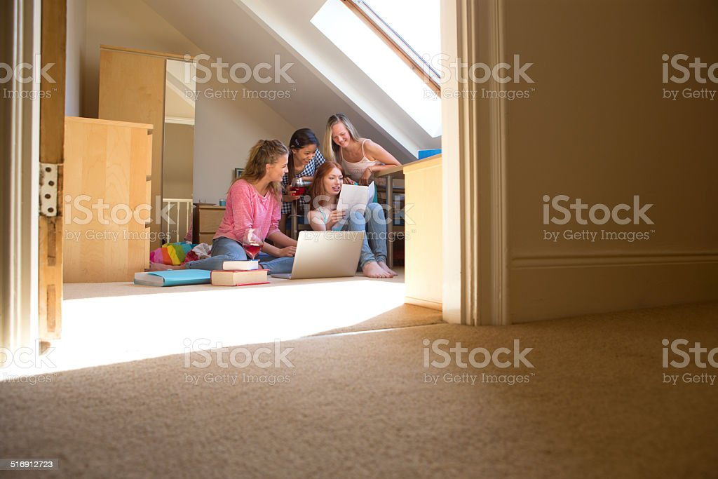 Student Accommodation stock photo