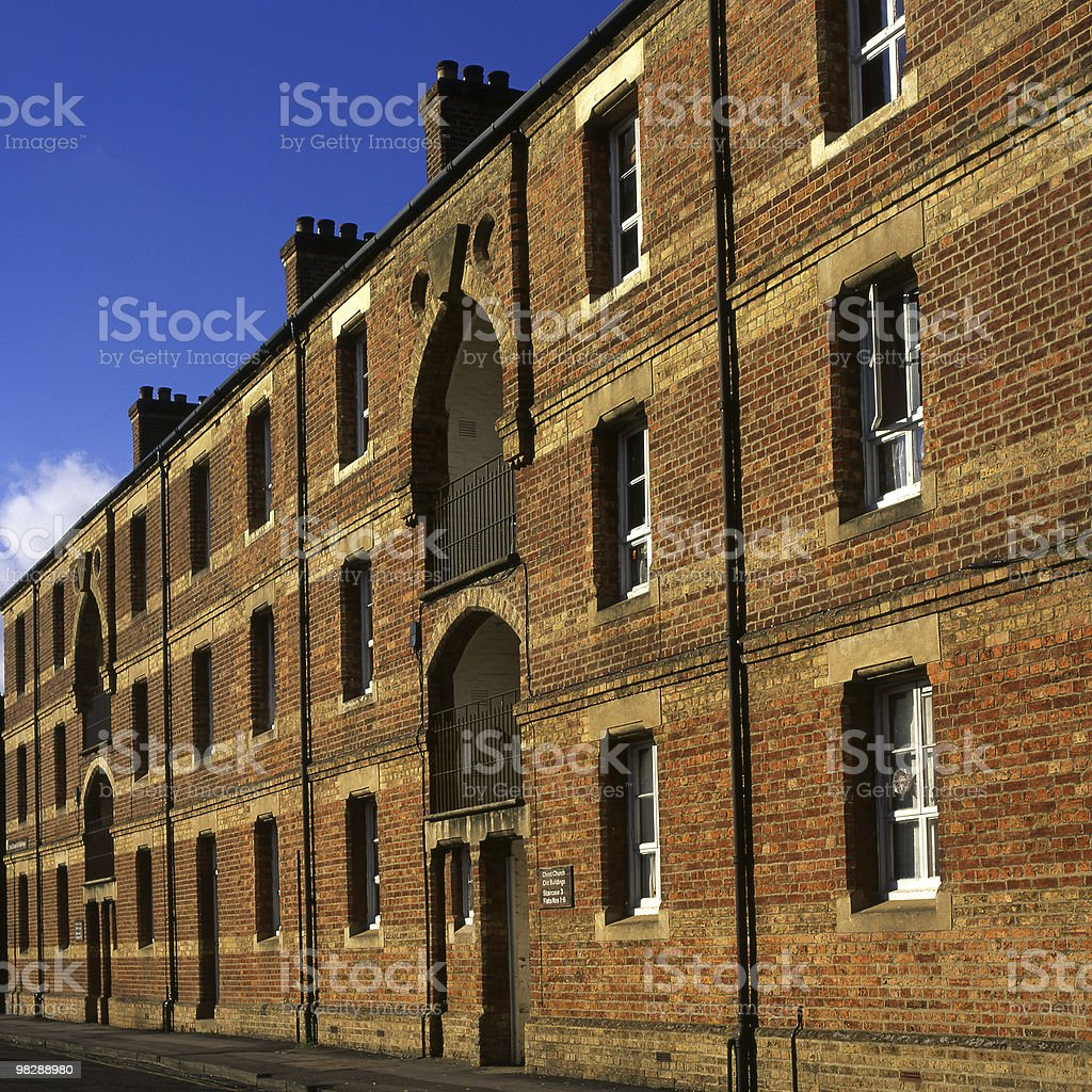 Student accomodation block. Oxford. England royalty-free stock photo