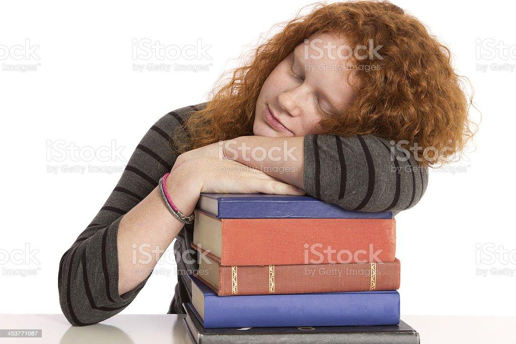 Student Books royalty-free stock photo