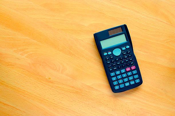 Student calculator stock photo