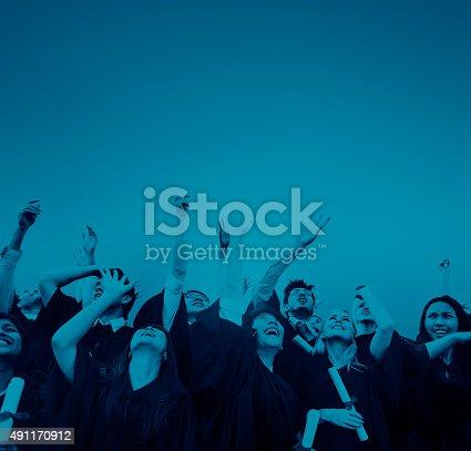 istock Student Celebration Education Graduation Happiness Concept 491170912