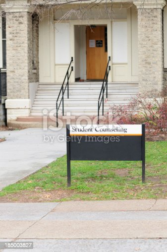 istock Student counseling sign 185003827