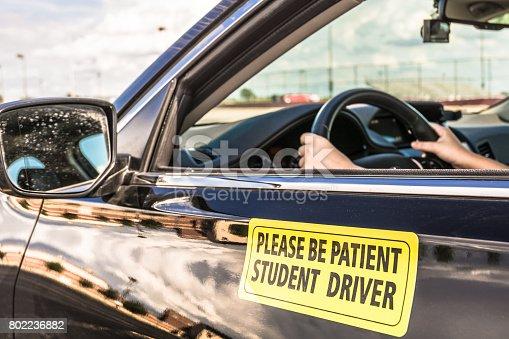 Student driver - Horizontal