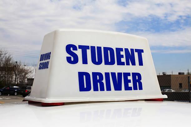 Student Driver stock photo
