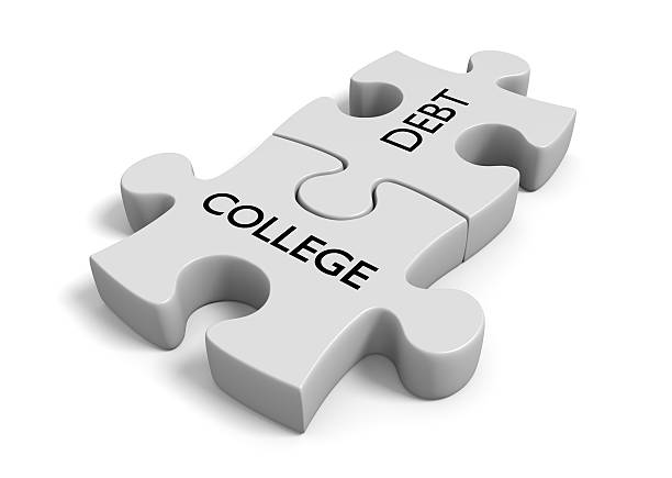 Student financial aid concept with
