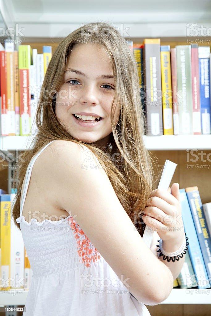 STudent girl, child royalty-free stock photo
