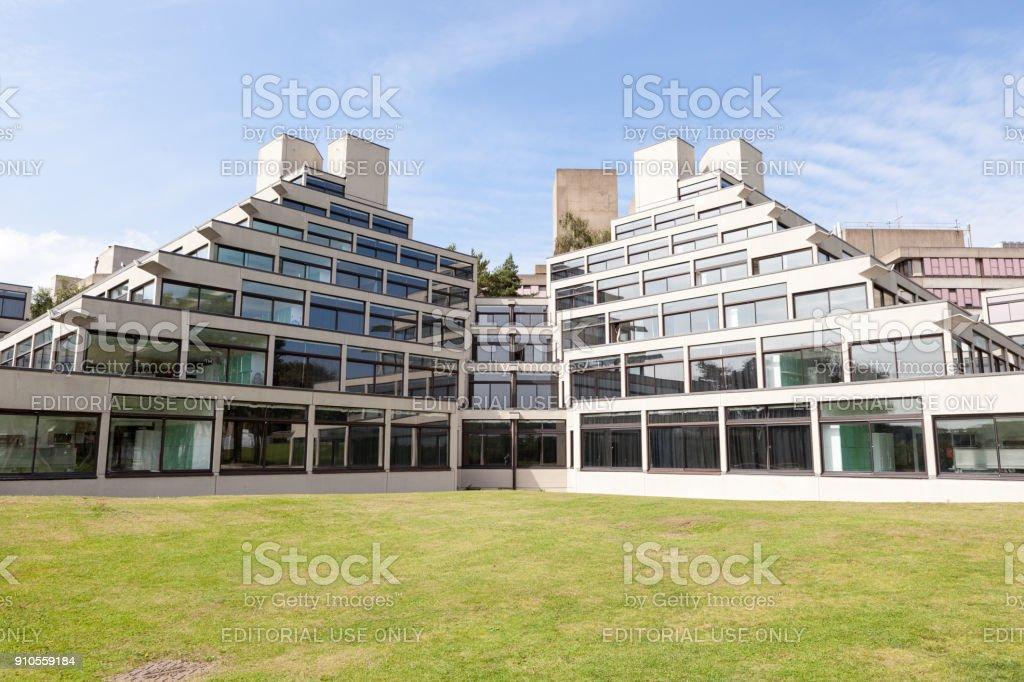 Student halls at UEA stock photo