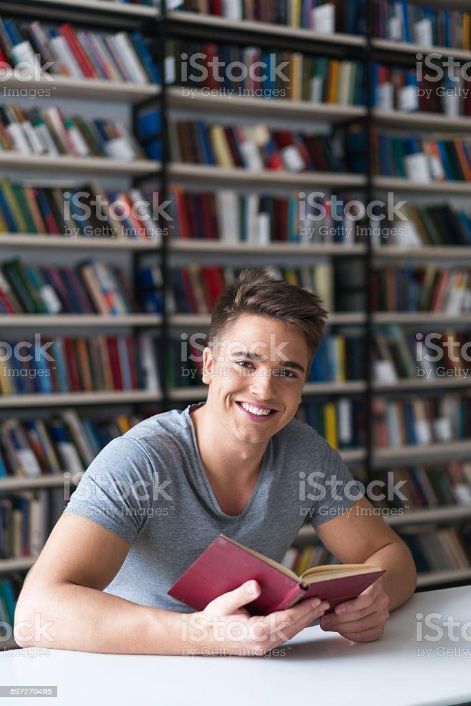 Student im Klassenzimmer Lizenzfreies stock-foto