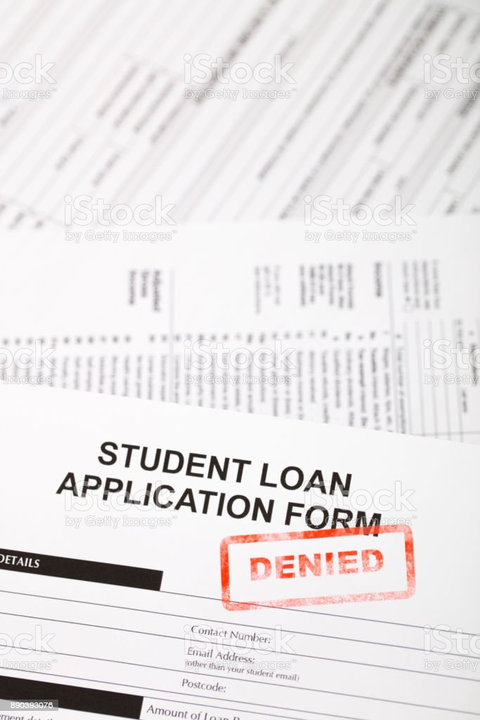 Student Loan Application Form Stock Photo  More Pictures Of