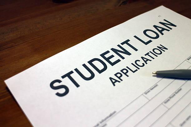 student darlehen anwendung - kindergeldantrag stock-fotos und bilder