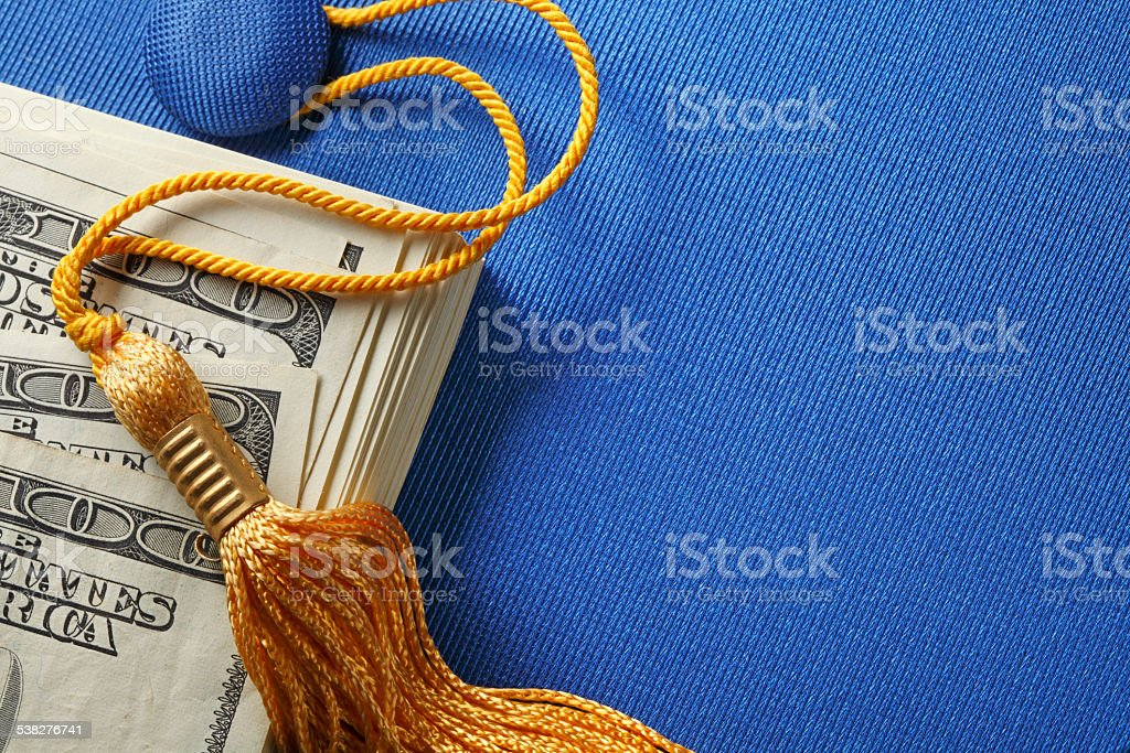 Student Loan Concept stock photo