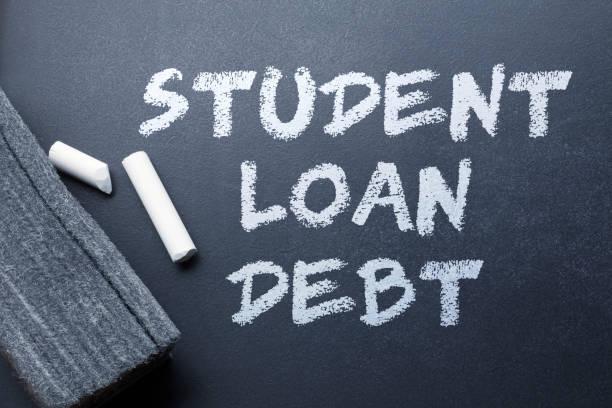 Student Loan Debt stock photo