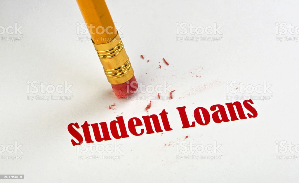 Student Loans. stock photo