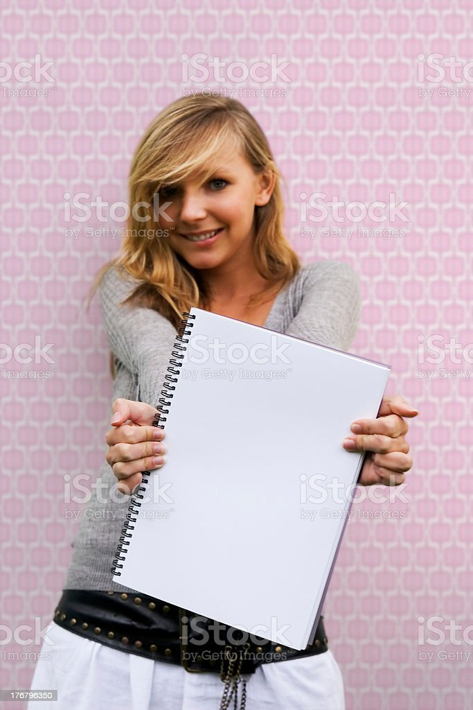 Student message royalty-free stock photo