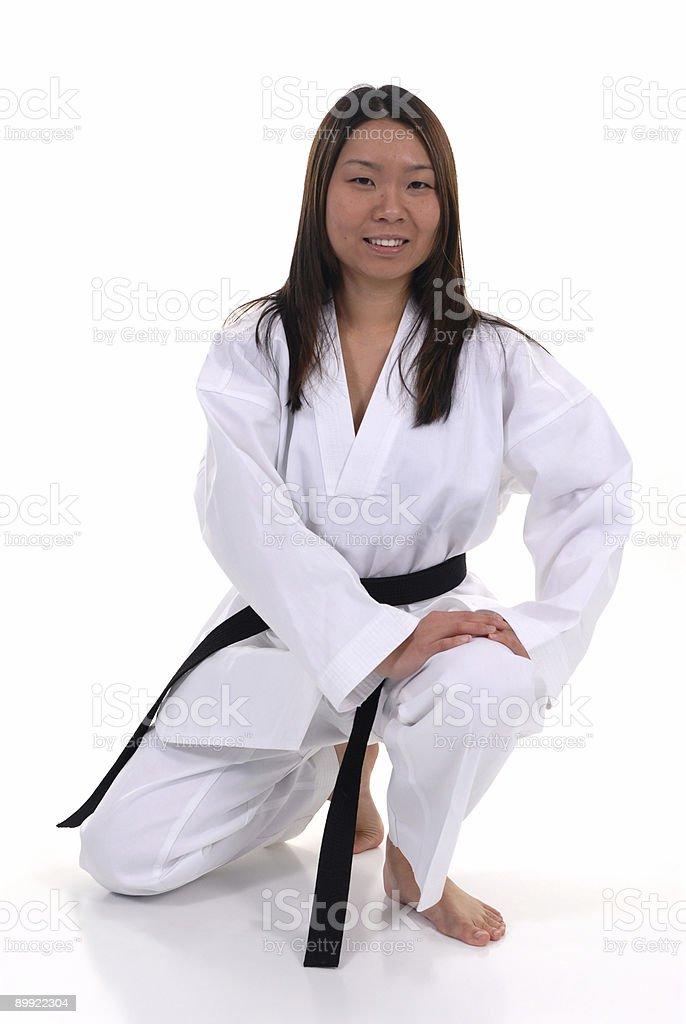 Student of discipline stock photo
