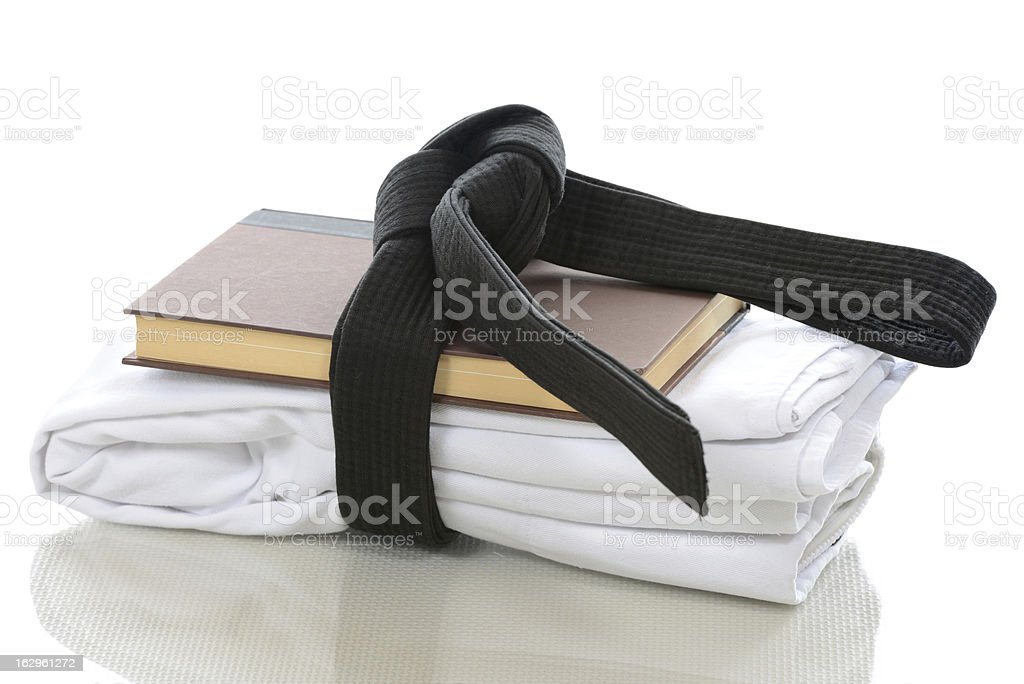 Student of the Martial Arts stock photo