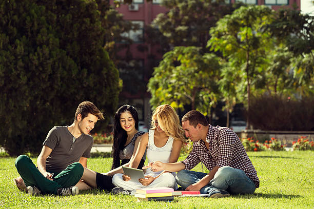 student outdoors - 18 23 months stock photos and pictures