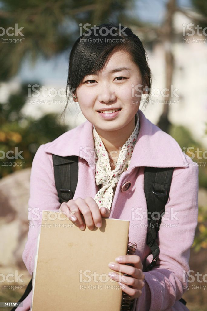 Studente foto stock royalty-free