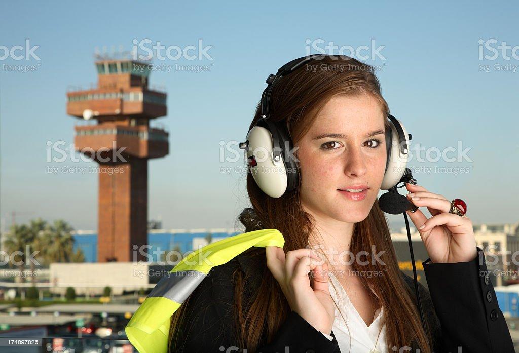 Student Pilot stock photo
